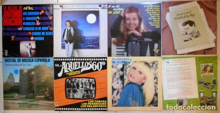 Discos de vinilo: LOTE 36 LPs DISCOS DE VINILO DE SEVILLANAS, COPLA Y CANCIÓN ESPAÑOLA - Foto 3 - 194897982