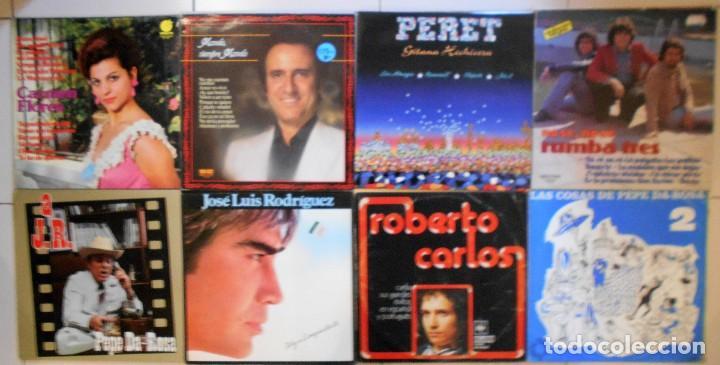 Discos de vinilo: LOTE 36 LPs DISCOS DE VINILO DE SEVILLANAS, COPLA Y CANCIÓN ESPAÑOLA - Foto 4 - 194897982