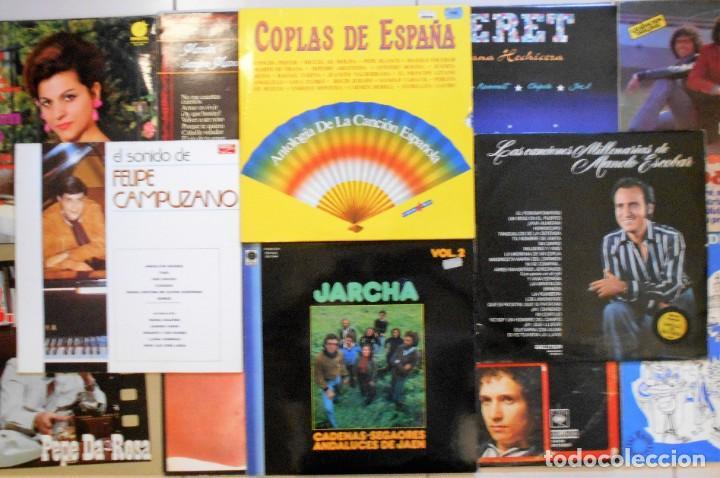 Discos de vinilo: LOTE 36 LPs DISCOS DE VINILO DE SEVILLANAS, COPLA Y CANCIÓN ESPAÑOLA - Foto 5 - 194897982
