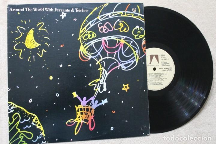 AROUND THE WORLD WITH FERRANTE & TEICHER LP VINYL MADE IN USA 1977 (Música - Discos - LP Vinilo - Jazz, Jazz-Rock, Blues y R&B)
