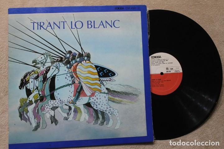 TIRANT LO BLANC LP VINYL GATEFOLD CON CUADERNILLO MADE IN SPAIN 1979 (Música - Discos - LP Vinilo - Otros estilos)