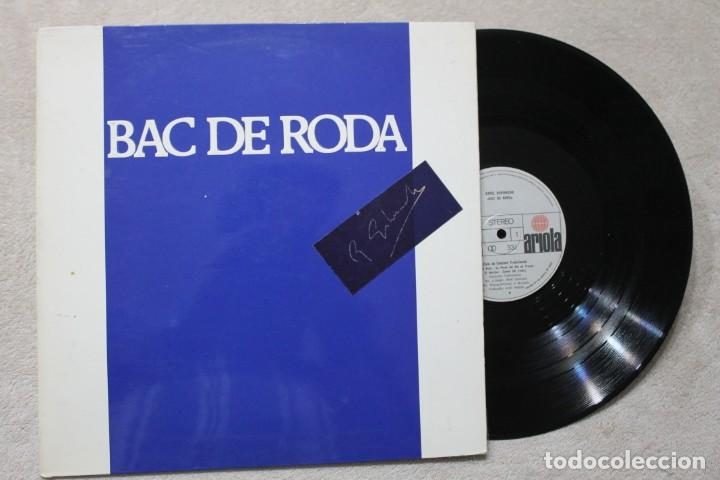 BAC DE RODA LP VINYL MADE IN SPAIN 1977 (Música - Discos - LP Vinilo - Otros estilos)