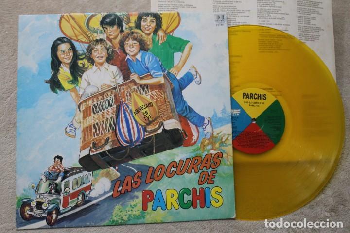 PARCHIS LAS LOCURAS DE PARCHIS LP VINYL GATEFOLD VINILO COLOR MADE IN SPAIN 1982 (Música - Discos - LP Vinilo - Grupos Españoles de los 70 y 80)