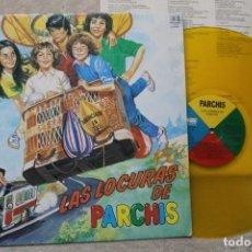 Discos de vinilo: PARCHIS LASLOCURAS DE PARCHIS LP VINYL GATEFOLD VINILO COLOR MADE IN SPAIN 1982. Lote 194898902