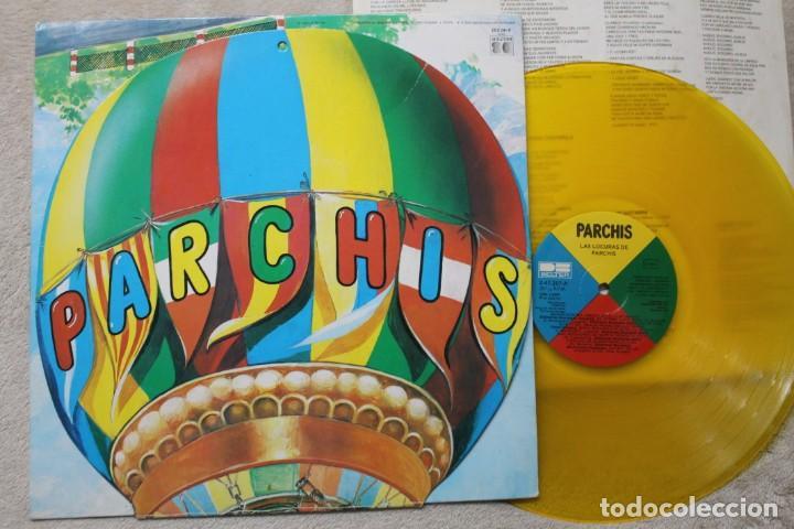 Discos de vinilo: PARCHIS LAS LOCURAS DE PARCHIS LP VINYL GATEFOLD VINILO COLOR MADE IN SPAIN 1982 - Foto 2 - 194898902