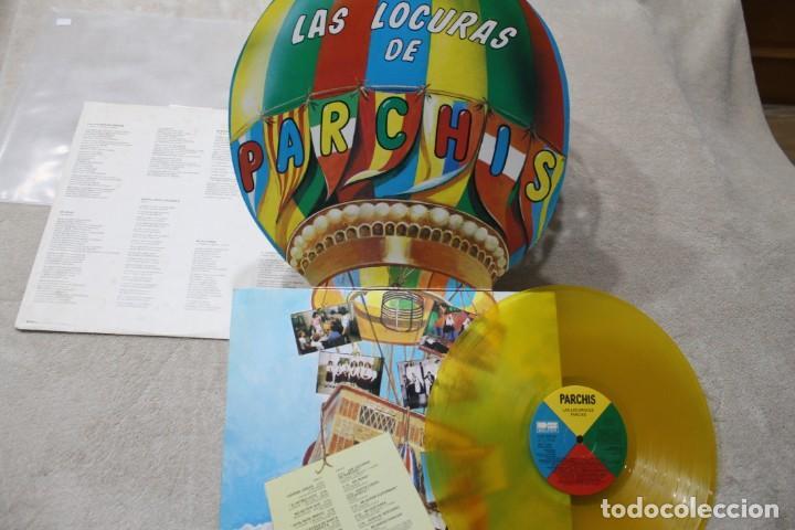 Discos de vinilo: PARCHIS LAS LOCURAS DE PARCHIS LP VINYL GATEFOLD VINILO COLOR MADE IN SPAIN 1982 - Foto 3 - 194898902