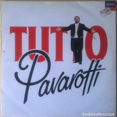 Discos de vinilo: LUCIANO PAVAROTTI - TUTTO PAVAROTTI - SPAIN 2 LP'S DECCA POLYGRAM 1989. Lote 194898987