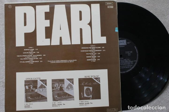 Discos de vinilo: PEARL LP VINYL MADE IN SPAIN 1978 - Foto 2 - 194899275