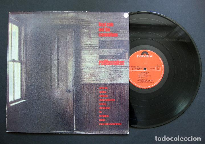 LLOYD COLE & THE COMMOTIONS ‎– RATTLESNAKES – VINILO 1984 (Música - Discos - LP Vinilo - Pop - Rock - New Wave Extranjero de los 80)