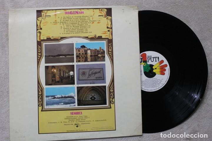 Discos de vinilo: TRAGINADA MENORCA LP VINYL MADE IN SPAIN 1978 - Foto 2 - 194899406