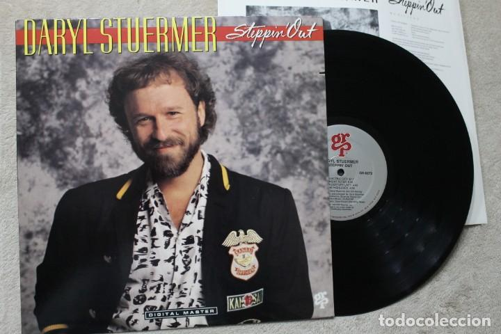 DARYL STUERMER STEPPIN OUT GENESIS LP VINYL MADE IN USA 1988 (Música - Discos - LP Vinilo - Pop - Rock - New Wave Extranjero de los 80)