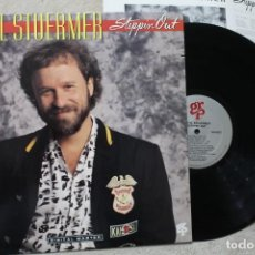 Discos de vinilo: DARYL STUERMER STEPPIN OUT GENESIS LP VINYL MADE IN USA 1988. Lote 194899526