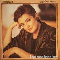 Discos de vinilo: AMAYA - SEGUIMOS JUNTOS - LP SPAIN 1989. Lote 194899578