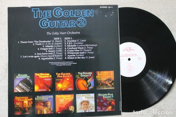 Discos de vinilo: THE GOLDEN GUITAR 2 THE EDDY STARR ORCHESTRA LP VINYL MADE IN GERMANY - Foto 2 - 194899741