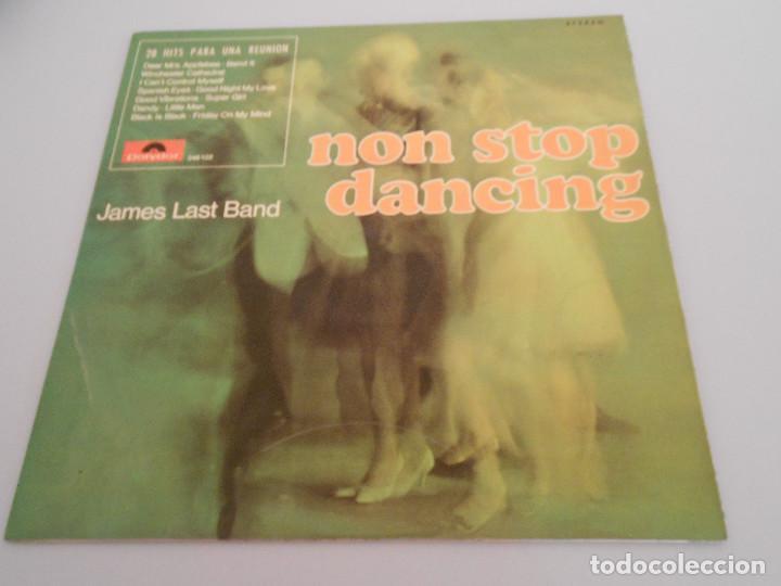 NON STOP DANCING. JAMES LAST BAND LP 1967 POLIDOR (Música - Discos - LP Vinilo - Jazz, Jazz-Rock, Blues y R&B)