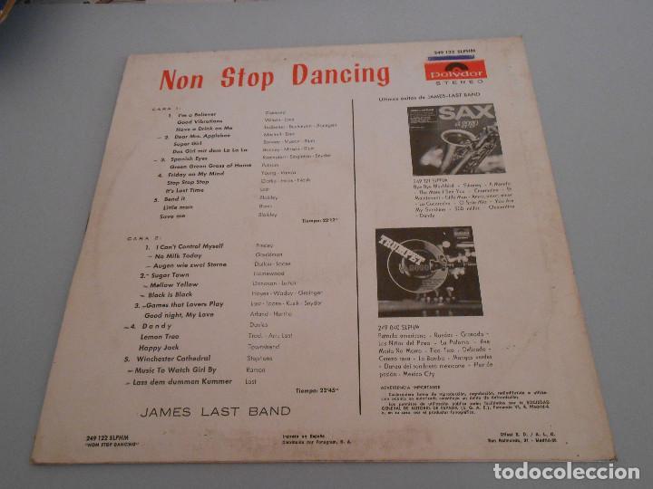 Discos de vinilo: Non stop dancing. James Last Band Lp 1967 Polidor - Foto 2 - 194899768