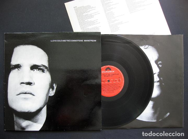 LLOYD COLE AND THE COMMOTIONS ‎– MAINSTREAM – VINILO 1987 (Música - Discos - LP Vinilo - Pop - Rock - New Wave Extranjero de los 80)