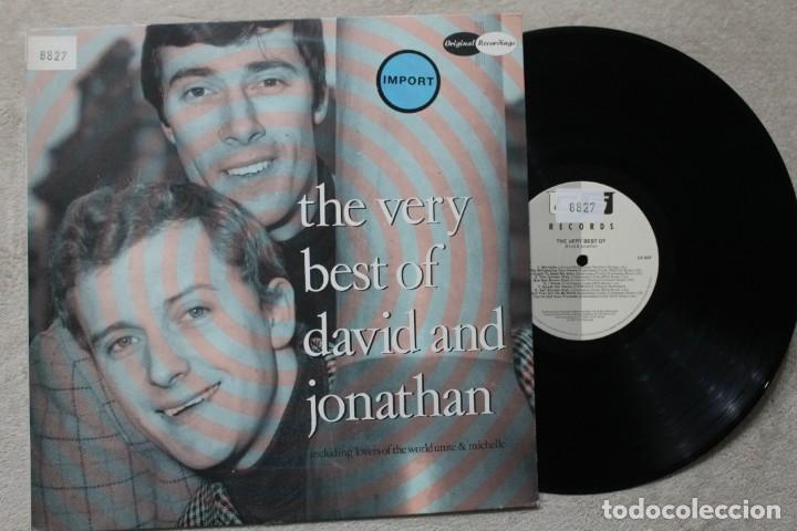 THE VERY BEST OF DAVID AND JONATHAN LP VINYL MADE IN NETHERLAND 1987 (Música - Discos - LP Vinilo - Pop - Rock - Extranjero de los 70)