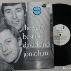 Discos de vinilo: THE VERY BEST OF DAVID AND JONATHAN LP VINYL MADE IN NETHERLAND 1987. Lote 194899881
