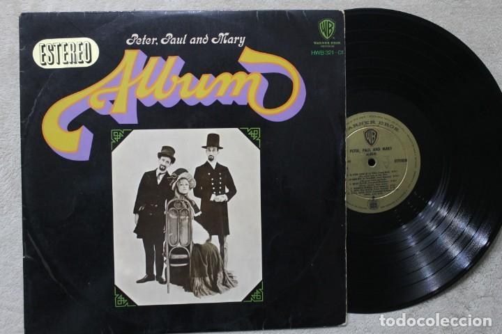 PETER PAUL & MARY ALBUM LP VINYL MADE IN SPAIN 1967 (Música - Discos - LP Vinilo - Pop - Rock - Extranjero de los 70)