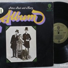Discos de vinilo: PETER PAUL & MARY ALBUM LP VINYL MADE IN SPAIN 1967. Lote 194900502