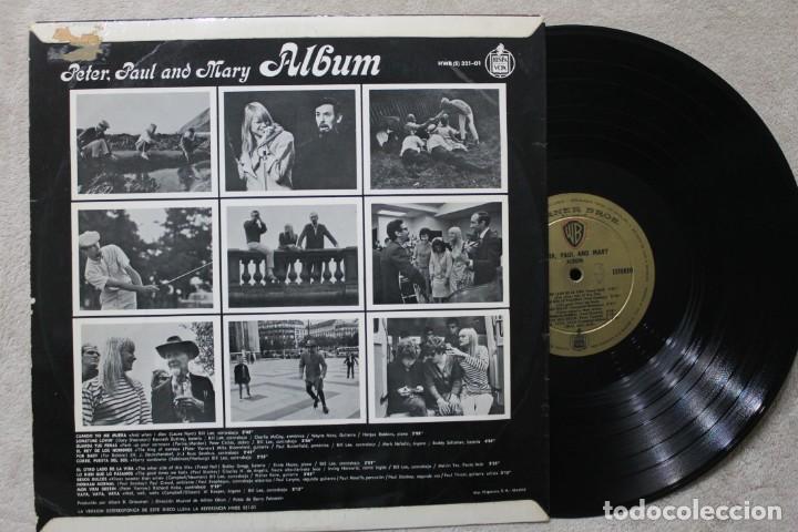 Discos de vinilo: PETER PAUL & MARY ALBUM LP VINYL MADE IN SPAIN 1967 - Foto 2 - 194900502