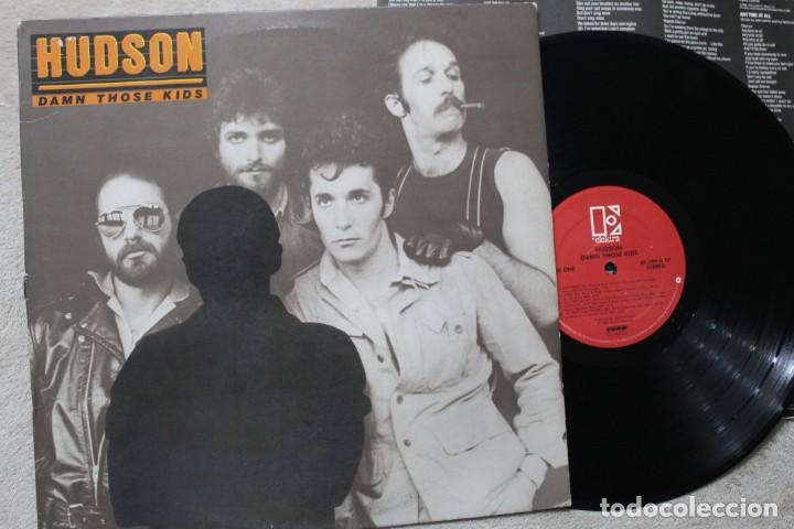 HUDSON BROTHERS DAMN THOSE KIDS LP VINYL MADE IN USA 1980 (Música - Discos - LP Vinilo - Pop - Rock - New Wave Extranjero de los 80)