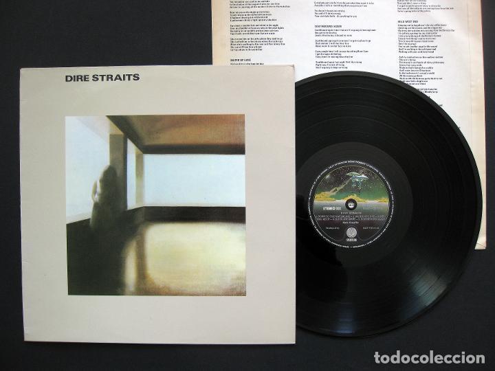 DIRE STRAITS – DIRE STRAITS – VINILO (Música - Discos - LP Vinilo - Pop - Rock - New Wave Extranjero de los 80)