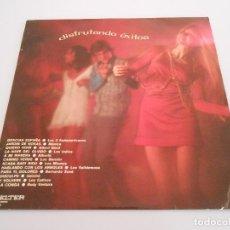 Discos de vinilo: LP DISFRUTANDO ÉXITOS. 1971, LOS 3 SUDAMERICANOS, MÓNICA, LOS INDIOS, ALBERTO. LUC BARRETO..... Lote 194900768