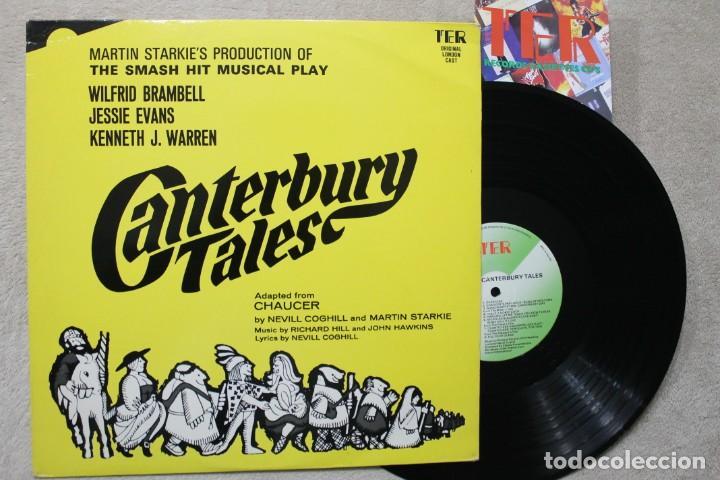 CANTERBURY TALES MARTIN STARKIE'S LP VINYL MADE IN ENGLAND 1968 (Música - Discos - LP Vinilo - Bandas Sonoras y Música de Actores )