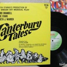 Discos de vinilo: CANTERBURY TALES MARTIN STARKIE'S LP VINYL MADE IN ENGLAND 1968. Lote 194901048