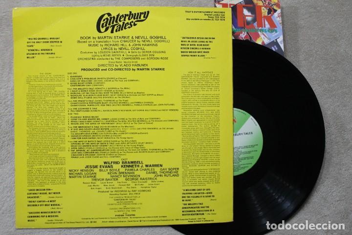 Discos de vinilo: CANTERBURY TALES MARTIN STARKIES LP VINYL MADE IN ENGLAND 1968 - Foto 2 - 194901048