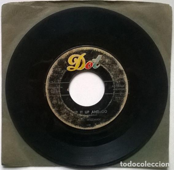 MAC WISEMAN. STEP IT UP AND GO/ SUNDOWN. DOT, USA 1957 SINGLE (Música - Discos - Singles Vinilo - Rock & Roll)