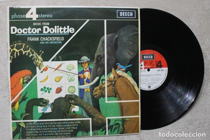 BSO DOCTOR DOLITTLE FRANK CHACKSFIELD AND HIS ORCHESTRA LP VINYL MADE IN SPAIN 1968 (Música - Discos - LP Vinilo - Bandas Sonoras y Música de Actores )