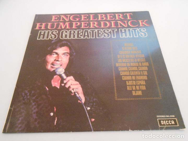Discos de vinilo: Engelbert Humperdinck. Hits Greatest Hits. Lp 1974 - Foto 1 - 194901580