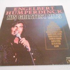 Discos de vinilo: ENGELBERT HUMPERDINCK. HITS GREATEST HITS. LP 1974. Lote 194901580