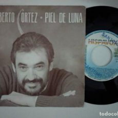 Discos de vinilo: ALBERTO CORTEZ - PIEL DE LUNA + LAS ESTADISTICAS. Lote 194901602
