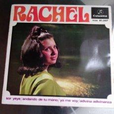 Disques de vinyle: RACHEL - SOR YEYÉ + 3. Lote 194901606
