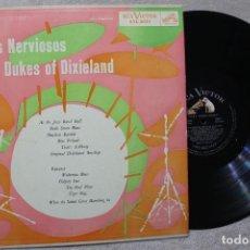 Discos de vinilo: PIES NERVIOSOS DUKES OFDIXIELAND LP VINYL MADE IN URUGUAY 1965. Lote 194901615