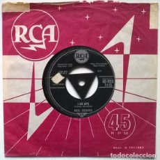 Discos de vinilo: NEIL SEDAKA. I GO APE/ MOON OF GOLD. RCA, UK 1959 SINGLE. Lote 194901676