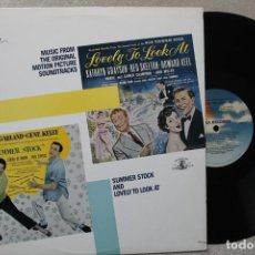Discos de vinilo: BSO LOVELY TO LOOK AT SUMMER STOCK LP VINYL MADE IN USA 1950. Lote 194901718
