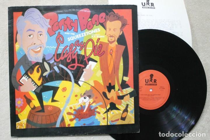 BSO PONTY BONE EASY AS PIE LP VINYL MADE IN SPAIN 1989 (Música - Discos - LP Vinilo - Bandas Sonoras y Música de Actores )