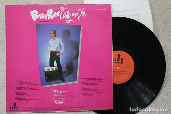 Discos de vinilo: BSO PONTY BONE EASY AS PIE LP VINYL MADE IN SPAIN 1989 - Foto 2 - 194901833