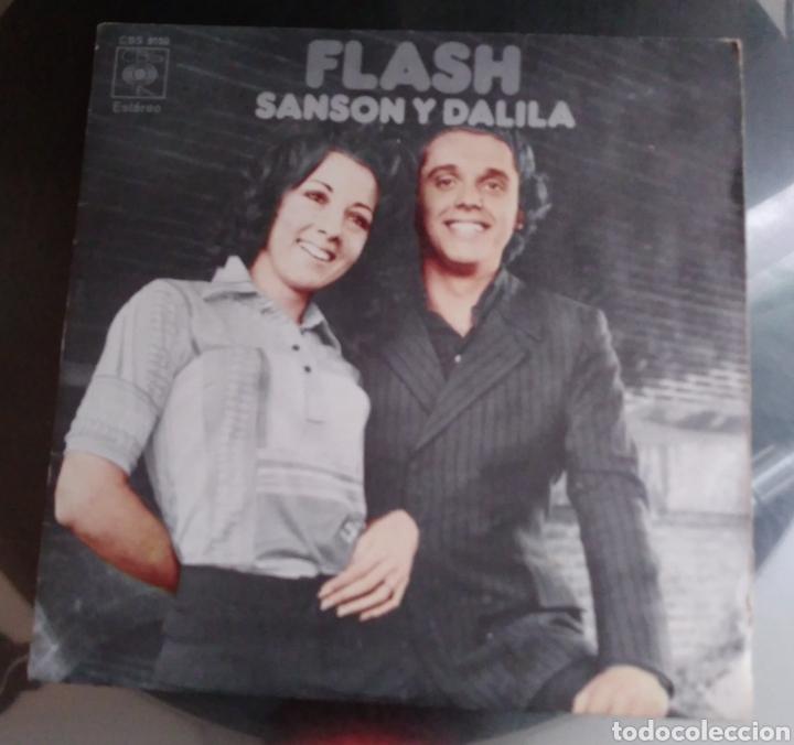 FLASH - SANSON Y DALILA (Música - Discos - Singles Vinilo - Pop - Rock - Extranjero de los 70)