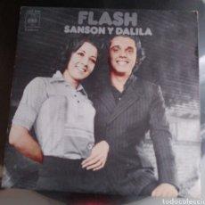 Discos de vinilo: FLASH SANSON Y DALILA. Lote 194902050