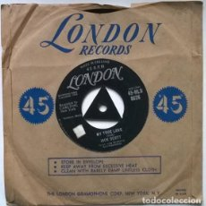 Discos de vinilo: JACK SCOTT. MY TRUE LOVE/ LEROY. LONDON, UK 1958 SINGLE. Lote 194902578