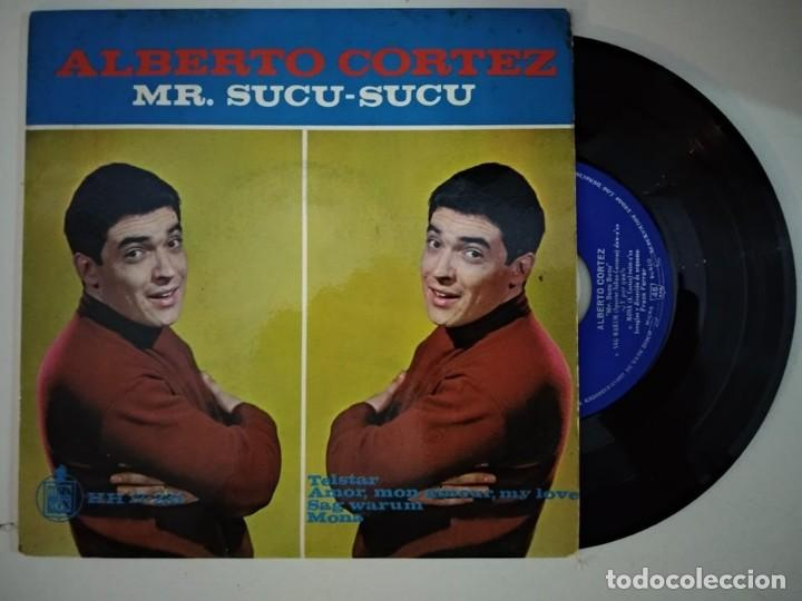 ALBERTO CORTEZ - MR.SUCU-SUCU - TELSTAR/ AMOR MON AMOUR MY LOVE/SAG WARUM/MONA (Música - Discos de Vinilo - EPs - Grupos y Solistas de latinoamérica)
