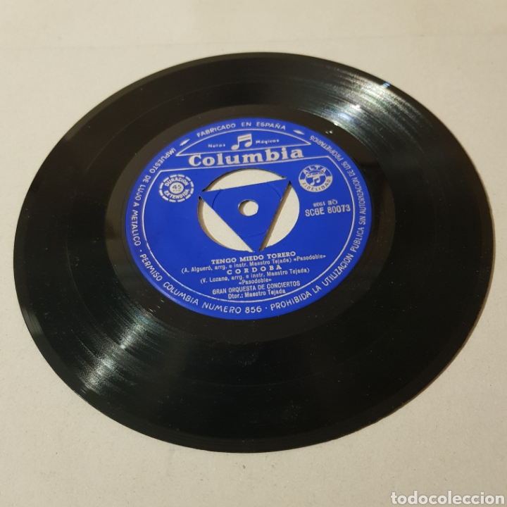 Discos de vinilo: PASODOBLES - MAESTRO TEJADA - COLUMBIA - Foto 4 - 194903805