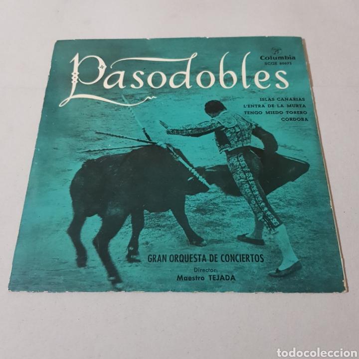 Discos de vinilo: PASODOBLES - MAESTRO TEJADA - COLUMBIA - Foto 5 - 194903805