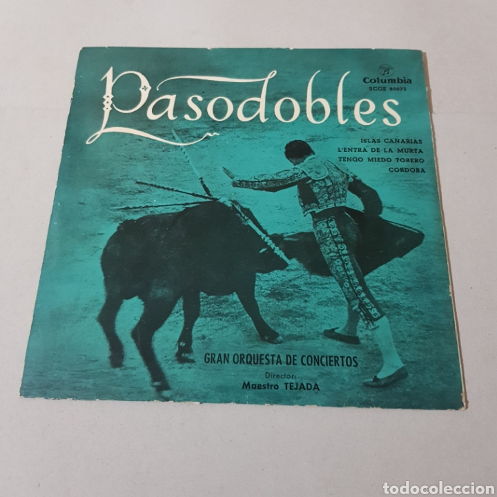 PASODOBLES - MAESTRO TEJADA - COLUMBIA (Música - Discos - Singles Vinilo - Flamenco, Canción española y Cuplé)